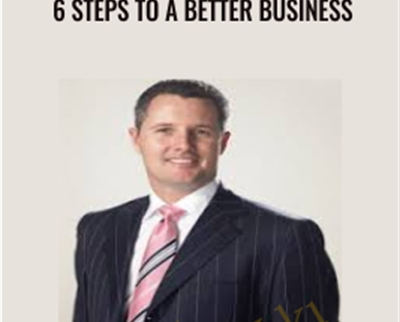 6 Steps To A Better Business – Brad Sugars